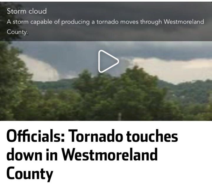 Tornado Westmoreland County